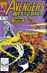 Cover Thumbnail for Avengers West Coast (Marvel, 1989 series) #63 [Direct Edition]