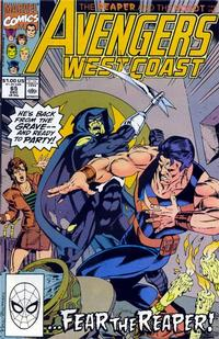 Cover Thumbnail for Avengers West Coast (Marvel, 1989 series) #65 [Direct Edition]
