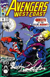 Cover Thumbnail for Avengers West Coast (Marvel, 1989 series) #69 [Direct]