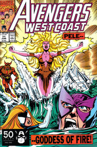 Cover Thumbnail for Avengers West Coast (Marvel, 1989 series) #71 [Direct Edition]