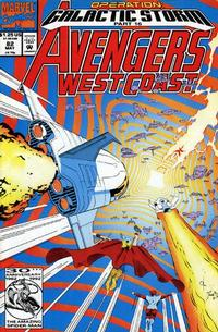Cover Thumbnail for Avengers West Coast (Marvel, 1989 series) #82 [Direct Edition]