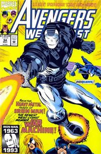Cover Thumbnail for Avengers West Coast (Marvel, 1989 series) #94 [Direct Edition]