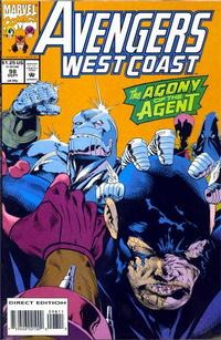 Cover Thumbnail for Avengers West Coast (Marvel, 1989 series) #98 [Direct Edition]