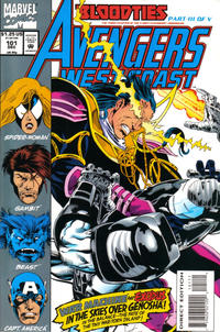 Cover Thumbnail for Avengers West Coast (Marvel, 1989 series) #101 [Direct Edition]