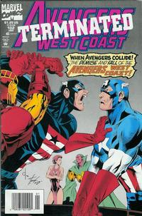 Cover Thumbnail for Avengers West Coast (Marvel, 1989 series) #102 [Newsstand]