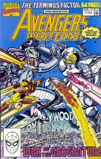 Cover Thumbnail for Avengers West Coast Annual (Marvel, 1990 series) #5 [Direct]