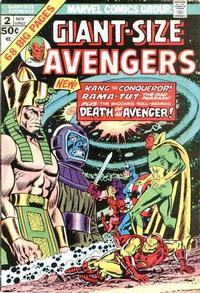 Cover Thumbnail for Giant-Size Avengers (Marvel, 1974 series) #2