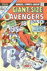 Cover Thumbnail for Giant-Size Avengers (Marvel, 1974 series) #3
