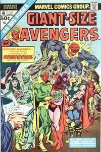 Cover Thumbnail for Giant-Size Avengers (Marvel, 1974 series) #4