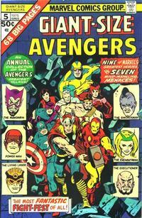 Cover Thumbnail for Giant-Size Avengers (Marvel, 1974 series) #5