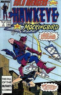 Cover Thumbnail for Solo Avengers (Marvel, 1987 series) #1