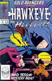 Cover Thumbnail for Solo Avengers (Marvel, 1987 series) #9