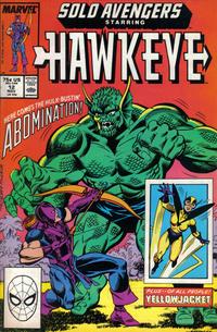 Cover Thumbnail for Solo Avengers (Marvel, 1987 series) #12
