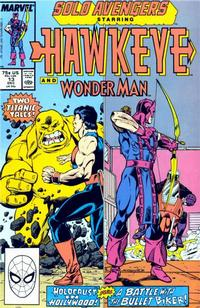 Cover Thumbnail for Solo Avengers (Marvel, 1987 series) #13
