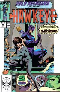 Cover Thumbnail for Solo Avengers (Marvel, 1987 series) #14
