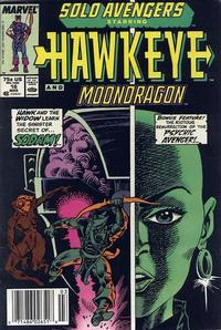 Cover Thumbnail for Solo Avengers (Marvel, 1987 series) #16