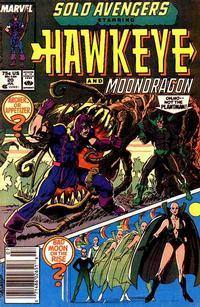 Cover Thumbnail for Solo Avengers (Marvel, 1987 series) #20