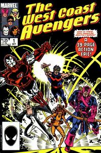 Cover Thumbnail for West Coast Avengers (Marvel, 1985 series) #1 [Direct Edition]