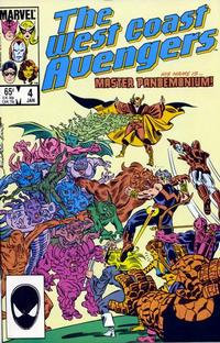 Cover Thumbnail for West Coast Avengers (Marvel, 1985 series) #4 [Direct]