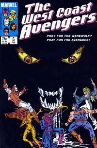 Cover Thumbnail for West Coast Avengers (Marvel, 1985 series) #5 [Direct Edition]