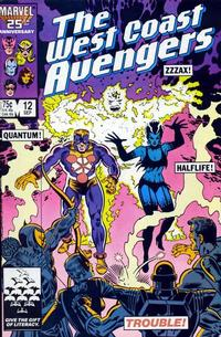 Cover Thumbnail for West Coast Avengers (Marvel, 1985 series) #12 [Direct Edition]