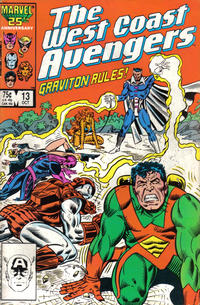 Cover Thumbnail for West Coast Avengers (Marvel, 1985 series) #13 [Direct Edition]