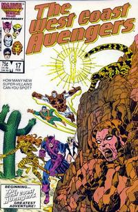 Cover Thumbnail for West Coast Avengers (Marvel, 1985 series) #17 [Direct Edition]
