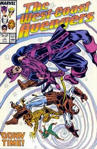 Cover Thumbnail for West Coast Avengers (Marvel, 1985 series) #19 [Direct Edition]