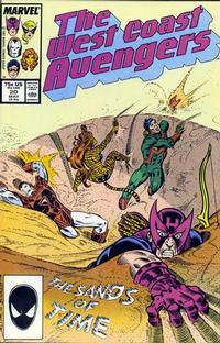 Cover Thumbnail for West Coast Avengers (Marvel, 1985 series) #20 [Direct Edition]