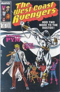 Cover Thumbnail for West Coast Avengers (Marvel, 1985 series) #21 [Direct Edition]
