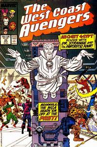 Cover Thumbnail for West Coast Avengers (Marvel, 1985 series) #22