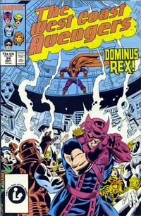 Cover Thumbnail for West Coast Avengers (Marvel, 1985 series) #24 [Direct Edition]