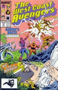 Cover Thumbnail for West Coast Avengers (Marvel, 1985 series) #31 [Direct Edition]