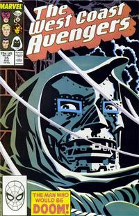 Cover Thumbnail for West Coast Avengers (Marvel, 1985 series) #35 [Direct Edition]