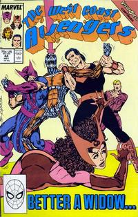 Cover Thumbnail for West Coast Avengers (Marvel, 1985 series) #44 [Direct Edition]