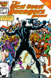 Cover Thumbnail for The West Coast Avengers Annual (Marvel, 1986 series) #1 [Direct]