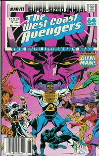 Cover Thumbnail for The West Coast Avengers Annual (Marvel, 1986 series) #3 [Newsstand]