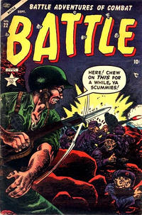 Cover Thumbnail for Battle (Marvel, 1951 series) #22