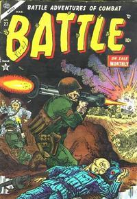 Cover Thumbnail for Battle (Marvel, 1951 series) #27