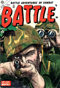 Cover for Battle (Marvel, 1951 series) #34