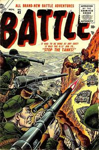 Cover Thumbnail for Battle (Marvel, 1951 series) #43