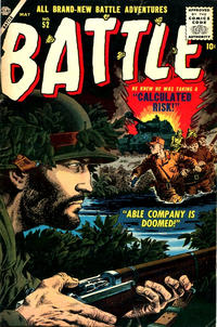 Cover Thumbnail for Battle (Marvel, 1951 series) #52