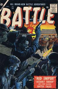 Cover Thumbnail for Battle (Marvel, 1951 series) #54