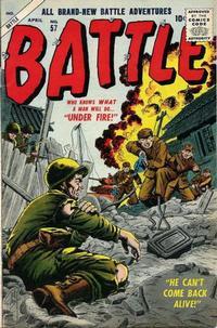 Cover for Battle (Marvel, 1951 series) #57