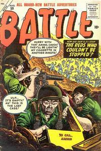 Cover Thumbnail for Battle (Marvel, 1951 series) #59