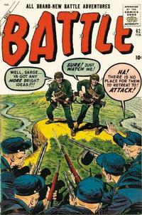 Cover for Battle (Marvel, 1951 series) #62
