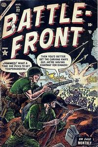 Cover Thumbnail for Battlefront (Marvel, 1952 series) #22