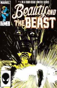 Cover Thumbnail for Beauty and the Beast (Marvel, 1984 series) #1 [Direct Edition]