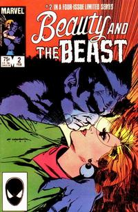 Cover Thumbnail for Beauty and the Beast (Marvel, 1984 series) #2 [Direct Edition]