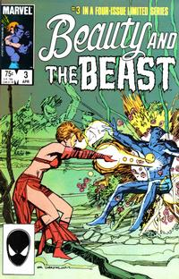 Cover Thumbnail for Beauty and the Beast (Marvel, 1984 series) #3 [Direct Edition]